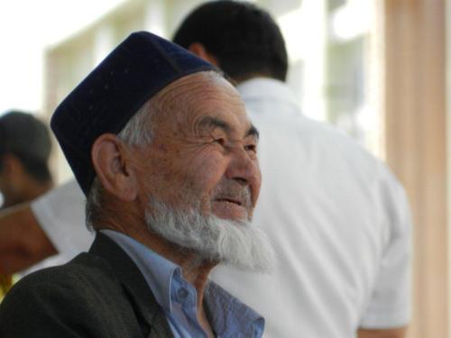 Sorriso dourado, última moda uzbeque