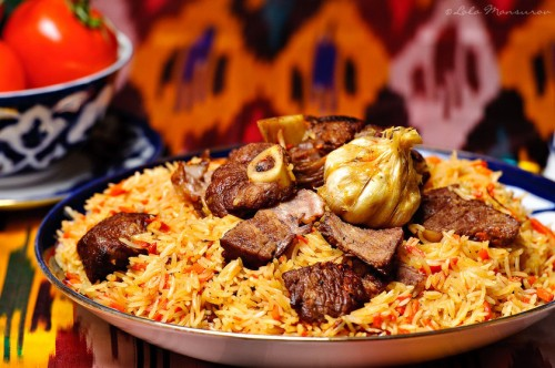 Exóticos sabores do Uzbequistão (foto do site http://lola-elise.com)