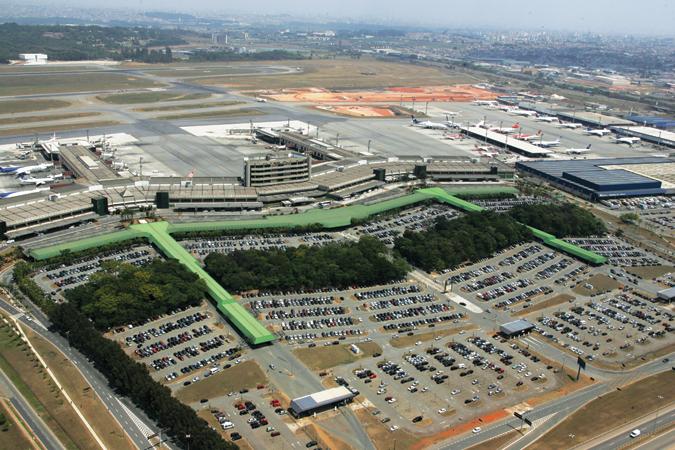 Aeroporto Guarulhos : Como chegar sair do aeroporto internacional de guarulhos