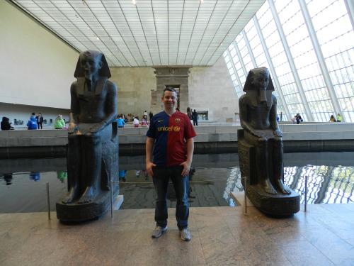 Egyptian exhibition at the Metropolitan