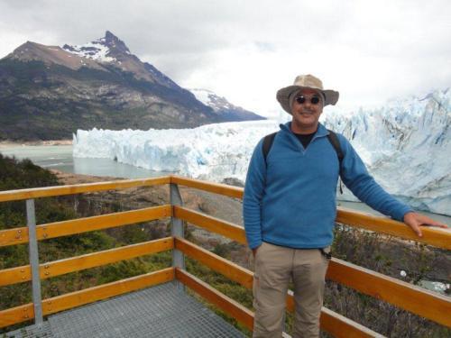 Marcelo curtindo os primeiros dias de sua Viagem de Volta ao Mundo em Calafate