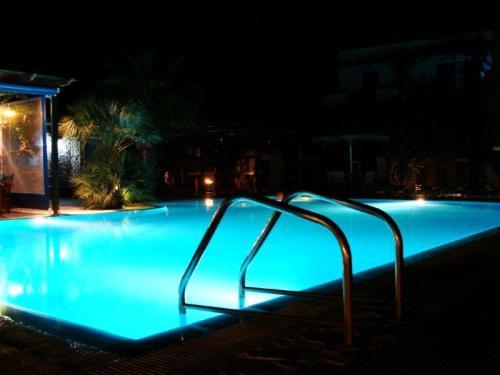 Depois de um dia de praia nada melhor que uma piscina