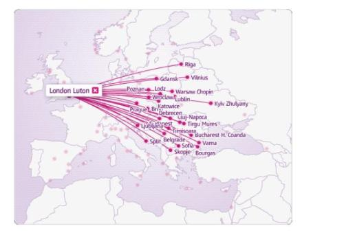 Este mapa agiliza a procura da rota