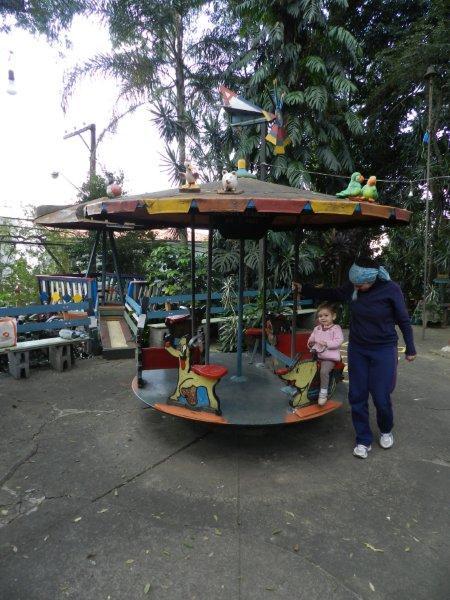 Carrossel: meu brinquedo favorito na Aldalbertolândia