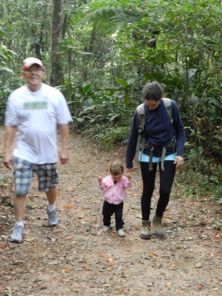 Trekking com a mãe e o vô João