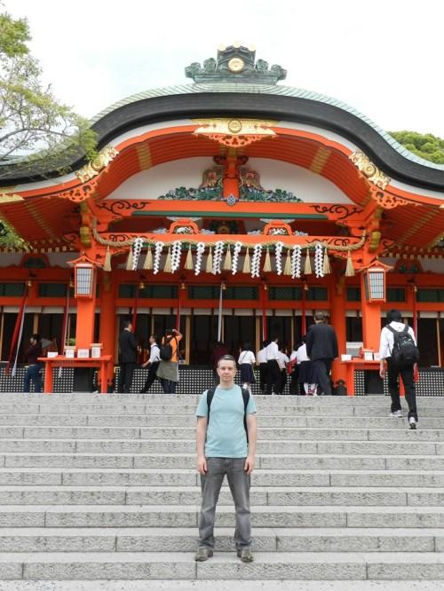 Um dos belos templos de Quioto