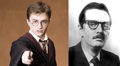 Nossa babá Harry Potter e sua vassoura