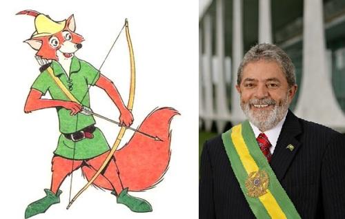 Robin Hood as vezes se confundia