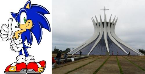É ou não é a cara do Sonic?
