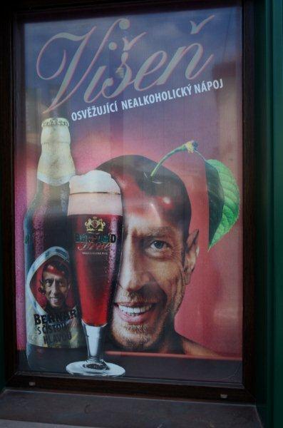 A cara do dono no rótulo da cerveja