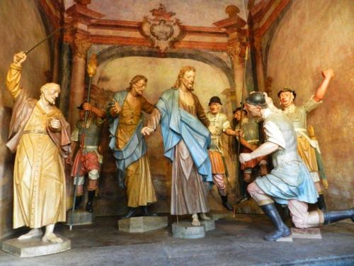 Soldados romanos prendem Jesus (Prisão)