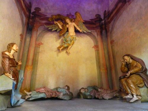 Jesus antevê sua morte no Horto (Horto)