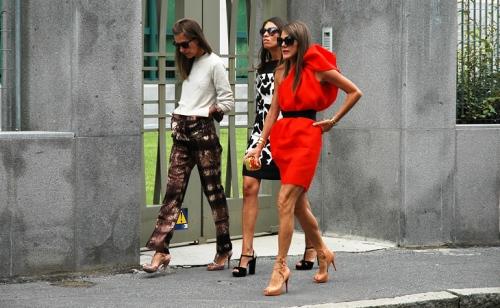 Andar com estas roupas na rua só na Itália