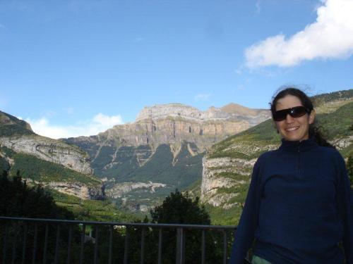 Parque Nacional de Ordesa e Monte Perdido visto de Torla