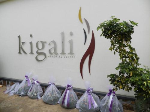 Entrada do Memorial do Genocídio em Kigali