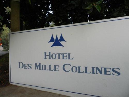 Entrada do verdadeiro Hotel Ruanda