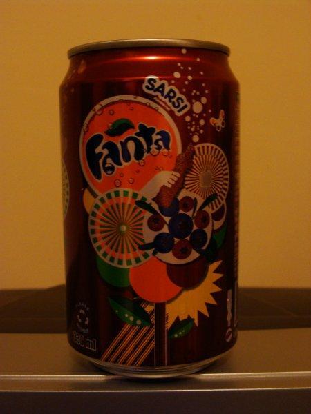 Coca Cola Company tem o prazer de apresentar: Fanta Sarsi. Que diabos é isso?