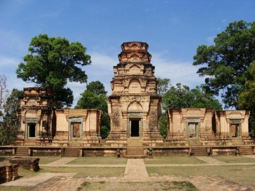 Prasat Kravan, muito bem conservado
