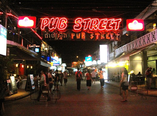 Seja qual for sua escolha sempre acabará na Pub Street