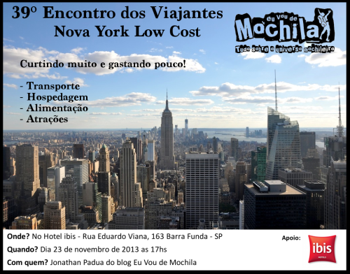 Nova York Convite 39 Encontro