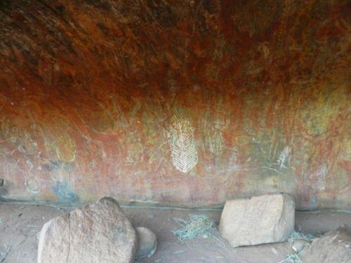 Pinturas rupestres em Mala Walk