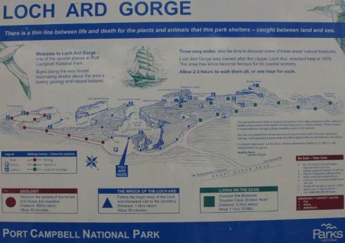 Mapa das trilhas