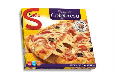 Esta pizza atravessou o mundo