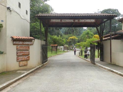 Entrada do Parque Estadual da Cantareira - Núcleo do Cabuçu