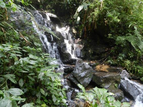 Depois de muitas subidas e descidas finalmente a cachoeira