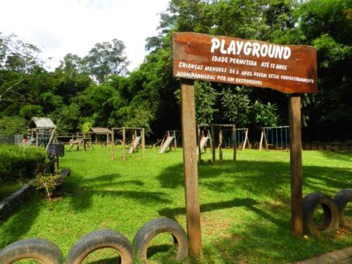 Para os pequenos que ainda tiverem energia tem um playground