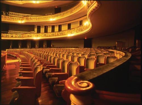 Para mim o mais bonito dos teatros que já fui
