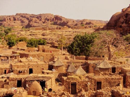 Arquitetura do país Dogon