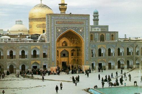 Imam Reza em Mashhad, a maior mesquita do mundo