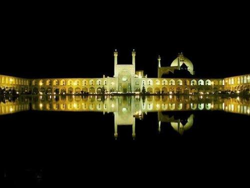 Praça Naqsh e Jahan em Esfahan