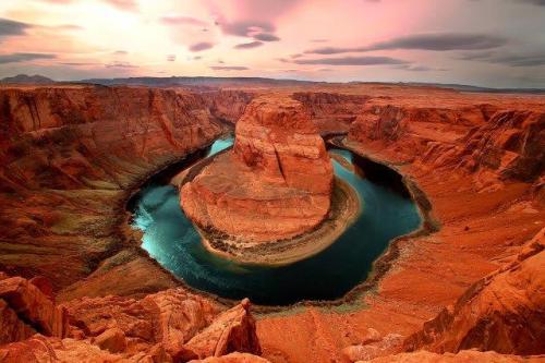 Horseshoe Bend no Glen Canyon National Recreation Area