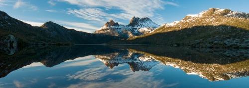 Cradle Mountain na inesquecível Tasmânia