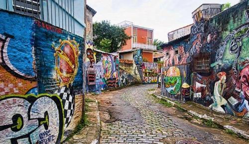 Arte de rua da melhor qualidade