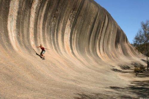 Esta onda até eu surfo