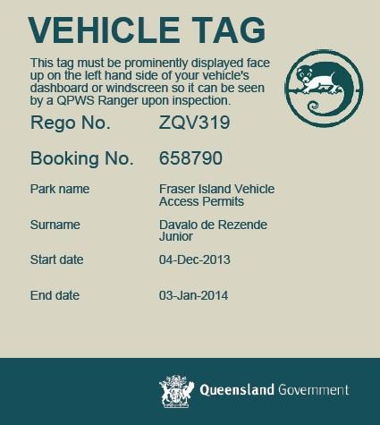 Sem esta permissão seu carro não pode circular na ilha