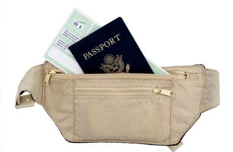 Passaporte é quase parte do nosso corpo