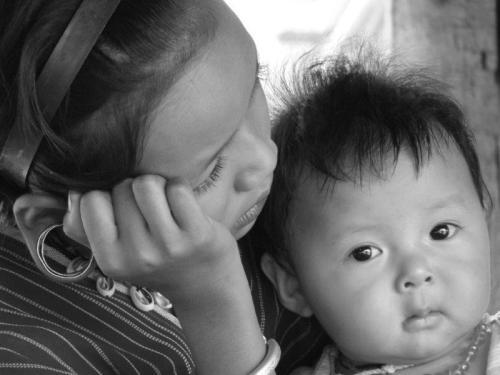 Crianças de Tribos Tailândia11