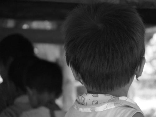 Crianças de Tribos Tailândia17