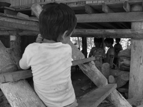 Crianças de Tribos Tailândia19