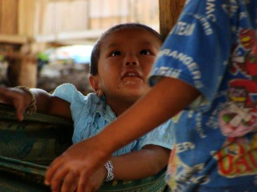 Crianças de Tribos Tailândia2