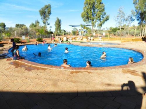 Foi nesta piscina que fizemos amizade