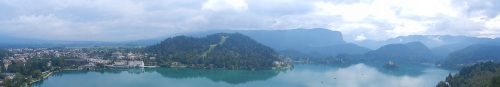 Panorâmica do Lago Bled