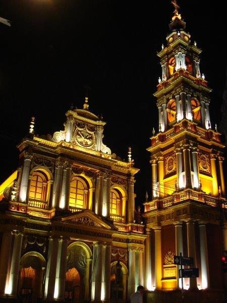 Igreja Nossa Senhora da Candelária à noite