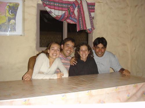 Fazendo amigos para sempre e com o mesmo gosto por viajar no Mamatierra