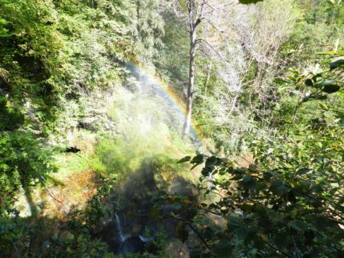 e para finalizar um arco íris na cachoeira