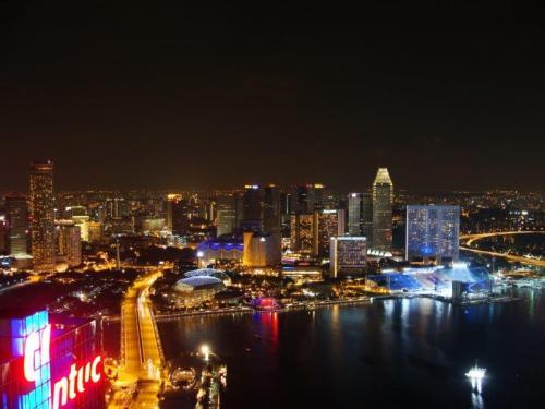 Esta vista da Marina Bay em Cingapura melhor deixar para depois